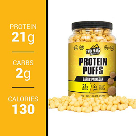 21 grams of protein puff.