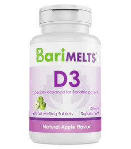 BariMelts D3 (90 Day Supply)