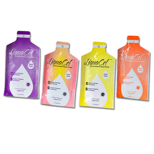 LiquaCel Concentrated Liquid Protein Packs (Sample Pack - 5 Flavors)