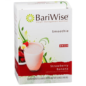 BariWise Strawberry Banana Smoothie