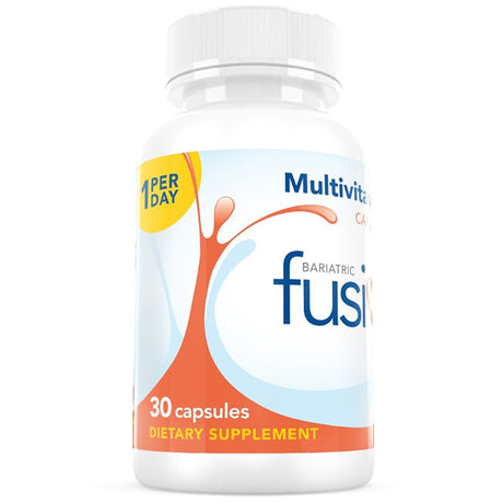 1 Per Day Multivitamin Capsule With Iron - Bariatric Fusion