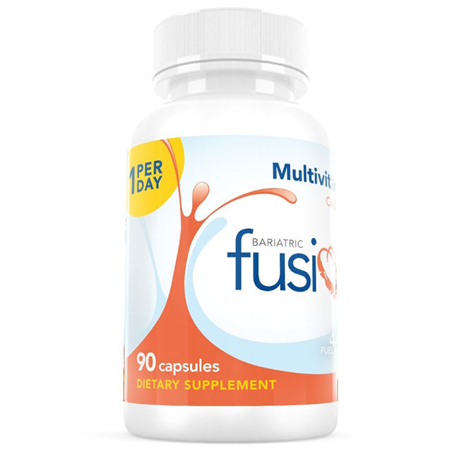 1 Per Day Multivitamin Capsule With Iron - Bariatric Fusion (3 Month Supply!)