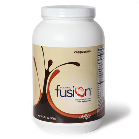 Baritatric Fusion High Protein/Meal Replacement Shakes - Cappuccino