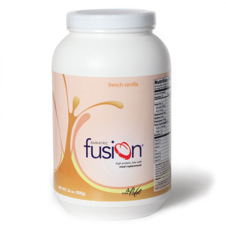 Baritatric Fusion High Protein/Meal Replacement Shakes - French Vanilla