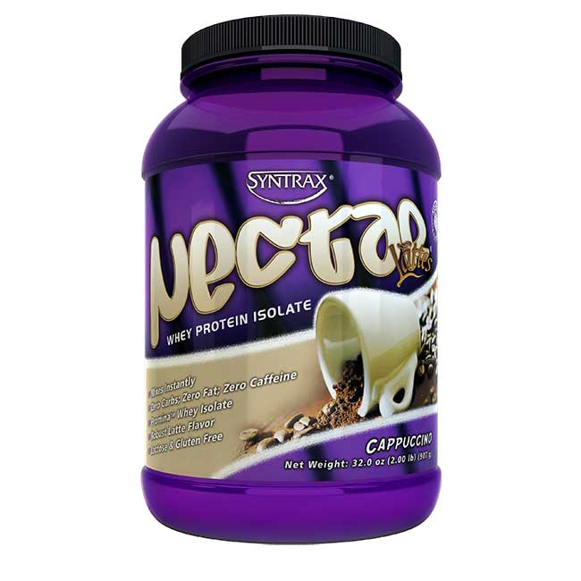 Cappuccino whey protein shake