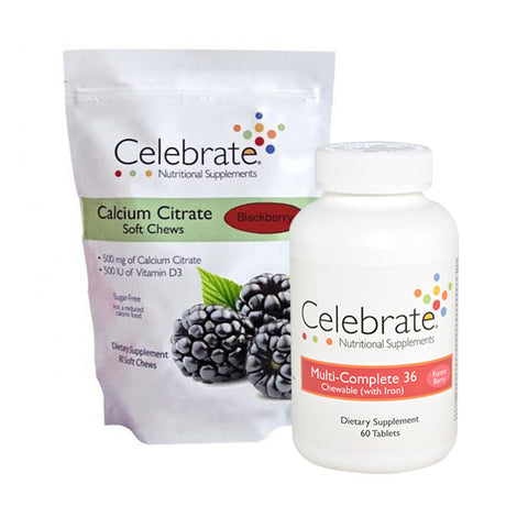 Gastric Bypass Pack - Chewable Celebrate