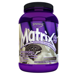 Syntrax Matrix Protein Powder Cookies and Cream 2lbs