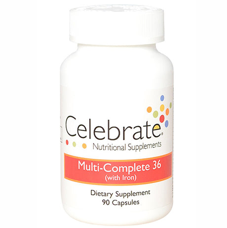 Celebrate Multi-Complete 36 (with Iron) 1 Month Supply