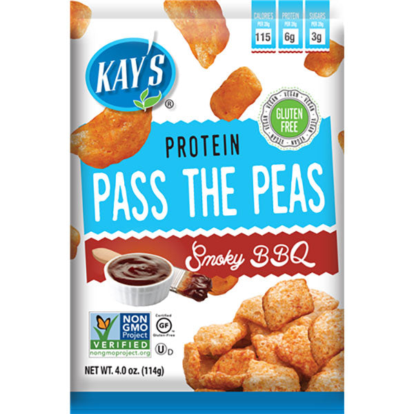 Pass the peas protein snack.