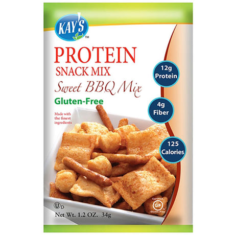 High protein snack mix.