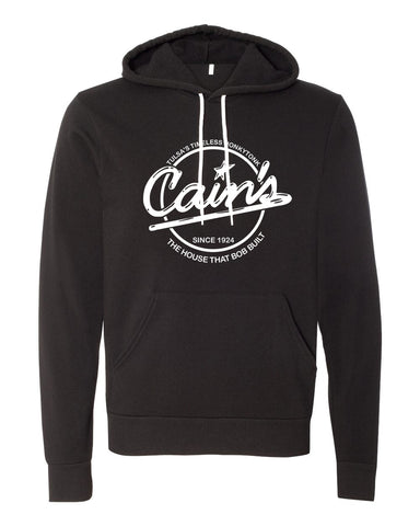 Hoodie | Black Pullover (Classic Logo)