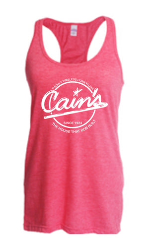 Tank | Ladies' Heather Fuchsia