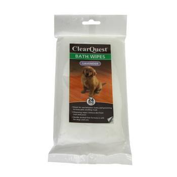 ClearQuest Pet Bath Wipes - Lavender