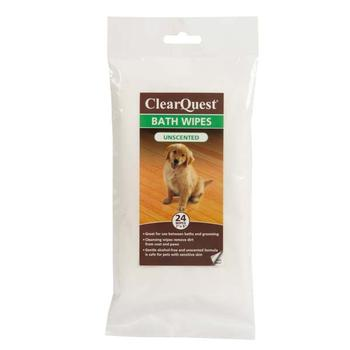 ClearQuest Pet Bath Wipes - Unscented