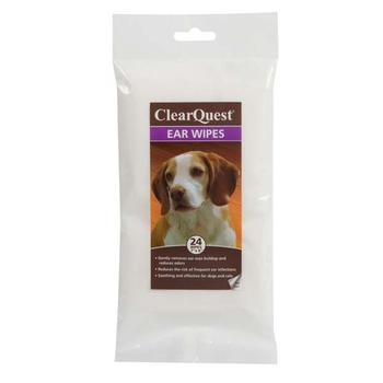 ClearQuest Pet Ear Wipes
