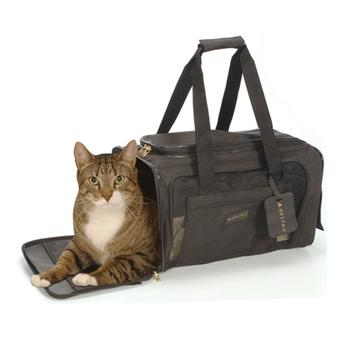 Delta Deluxe Pet Carrier by Sherpa - Black