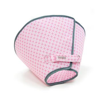 Get Better Soft Dog E-Collar by Dogo - Pink Dots