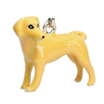 Labrador Retriever Key Chain by Parisian Pet - Yellow Lab