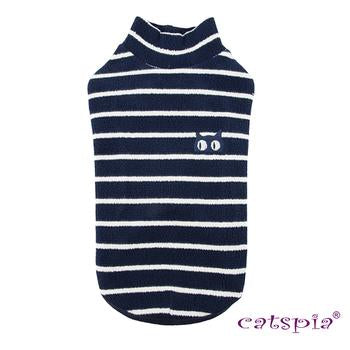 Monty Cat Sweater by Catspia - Navy