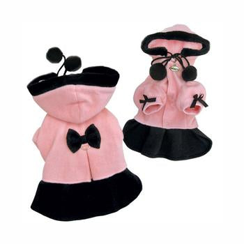 Princess Dog Dress Coat with Detachable Hood by Klippo