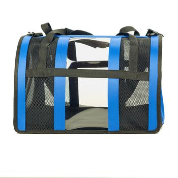 Push Pushi Puppy Shell Dog Carrier - Blue