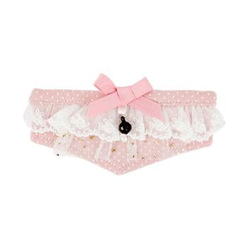 Rosetta Cat Collar Scarf by Catspia - Pink
