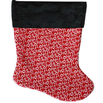 Santa Says Pet Christmas Stocking