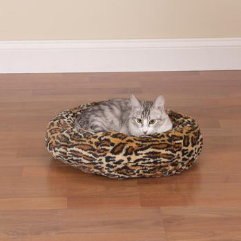 Slumber Pet Cozy Kitty Bed - Cheetah