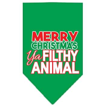 Ya Filthy Animal Pet Bandana - Green