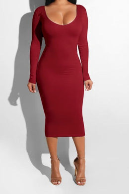 Borishia Body Dress