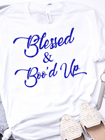 Blessed &Boo'd Up Tee