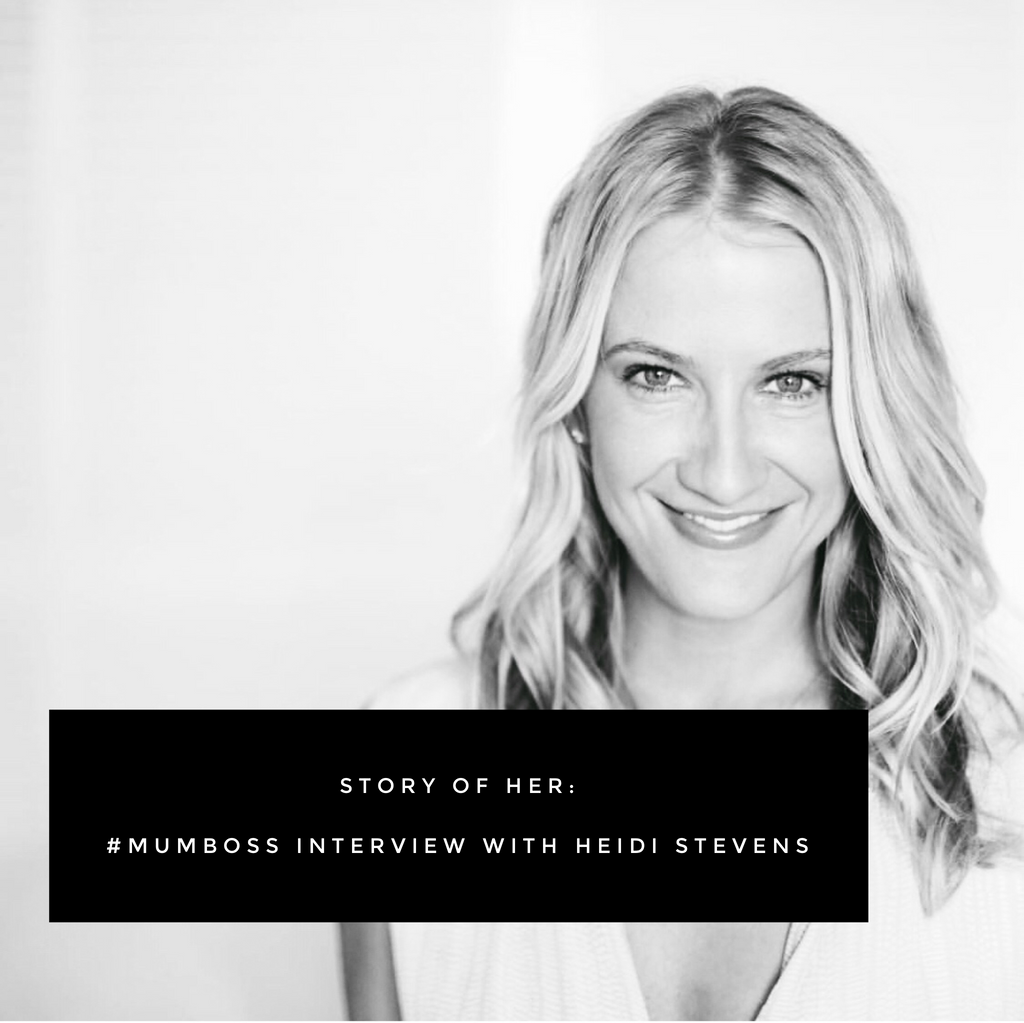 The story of Her: a #mumboss interview with Heidi Stevens