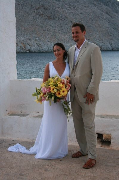wedding in symi