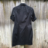 2b Bebe black short sleeve dress