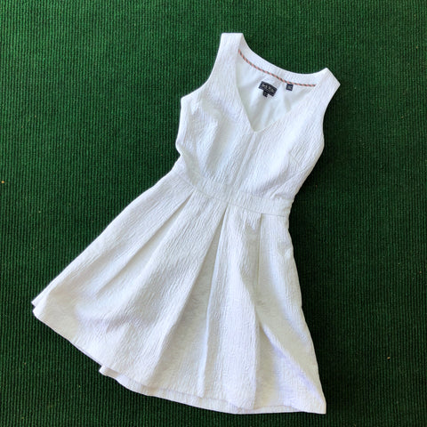 White Jack Wills party dress