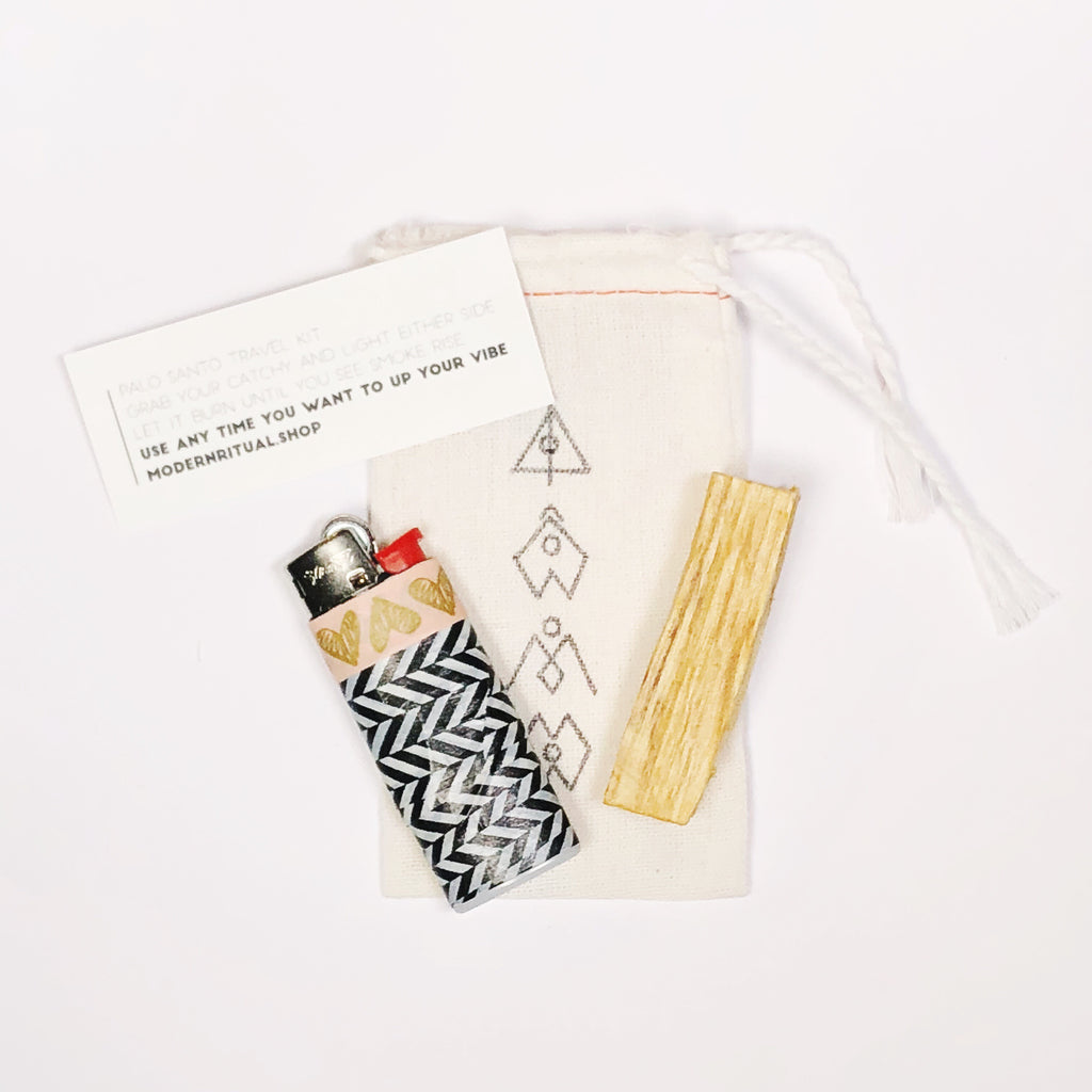 Palo Santo travel kit