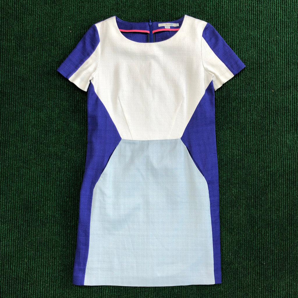 Boden cotton blues dress