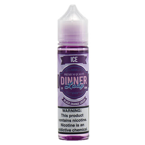 Dinner Lady Premium E-Liquids ICE - Black Orange Crush