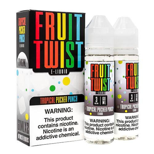 Fruit Twist E-Liquids - Tropical Pucker Punch