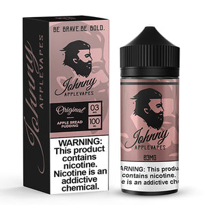 Johnny Apple Vapes - Apple Bread Pudding