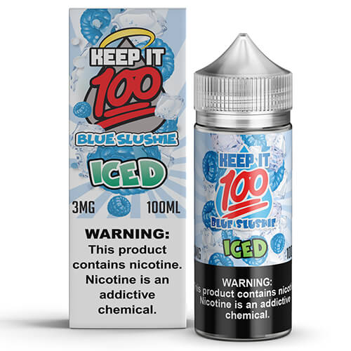 Keep It 100 E-Juice - Blue Slushie ICED