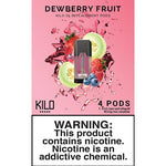 Kilo eLiquids 1K Vaporizer Device - Refill Pod - Dewberry Fruit (4 Pack)