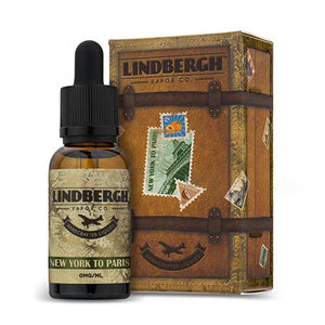 Lindbergh Vapor Company - New York to Paris