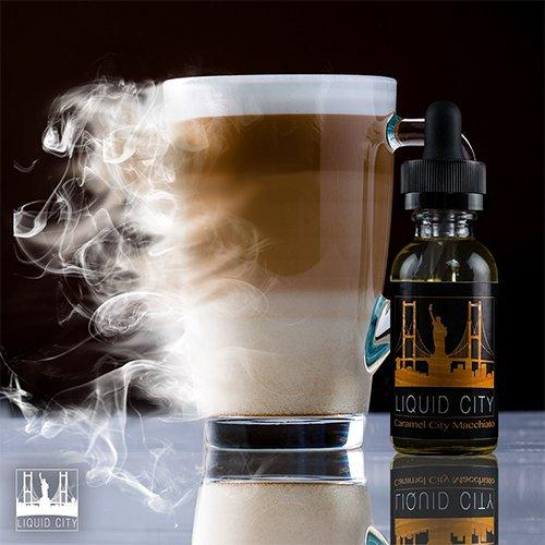 Liquid City E-Juice - Caramel Macchiato