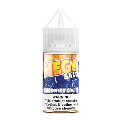 MEGA E-Liquids Salts - Blueberry Crumb