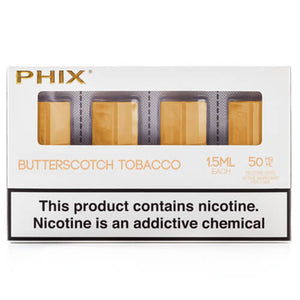 PHIX by MLV - Butterscotch Tobacco (4 Pack)