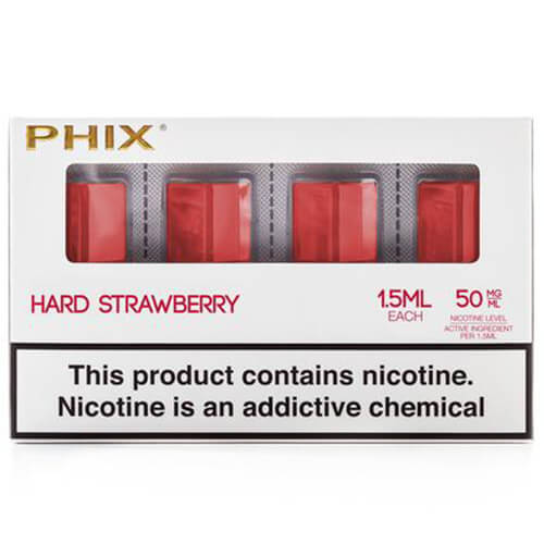 PHIX by MLV - Hard Strawberry (4 Pack)