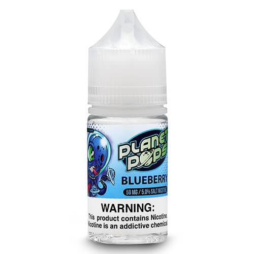 Planet Pops eJuice Nic Salts - Planet Pop Blueberry Salt