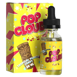 Pop Clouds E-Liquid - Tropical Punch Candy