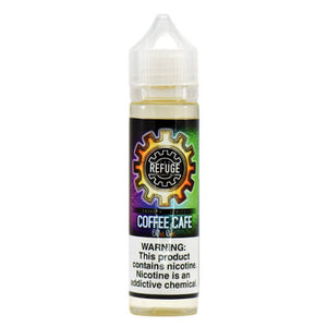 The Refuge Handcrafted E-Liquid - Coffee Cafe